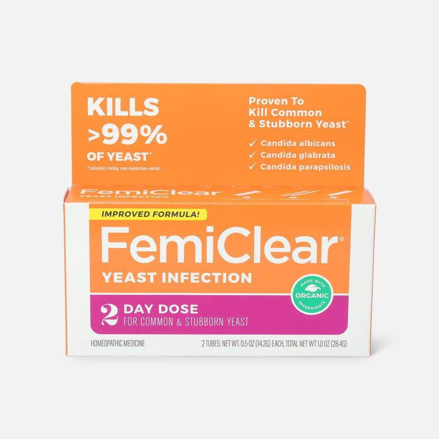 FemiClear 2 Day Yeast Infection Treatment, 1 oz, , large image number 0