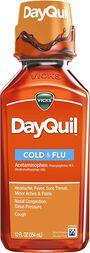 Vicks Dayquil Cold & Flu, 12 oz, , large image number 0