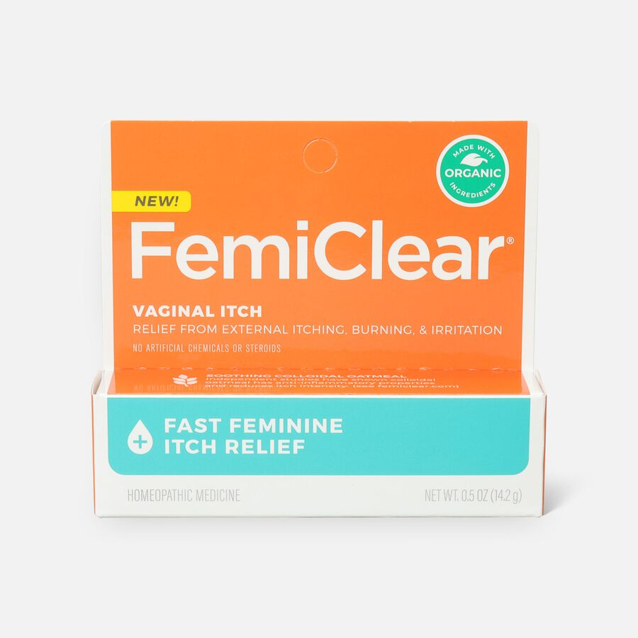 FemiClear Vaginal Itch Relief, 0.5 oz, , large image number 0