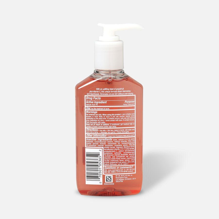 Neutrogena Pink Grapefruit Oil-Free Acne Facial Wash, , large image number 1