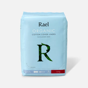 Rael Organic Cotton Cover Panty Liners for Bladder Leaks