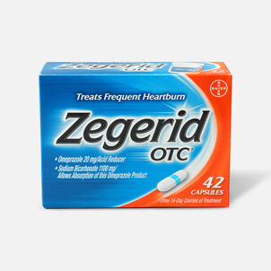 Zegerid OTC Heartburn Relief Capsules, 42 ct