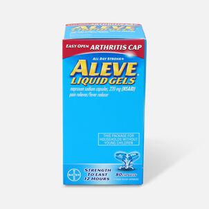 Aleve Arthritis Liquid Gels, Easy Open Cap, 80ct