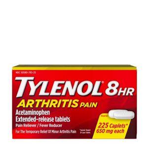 Tylenol 8HR Arthritis Pain Caplet, 225 ct