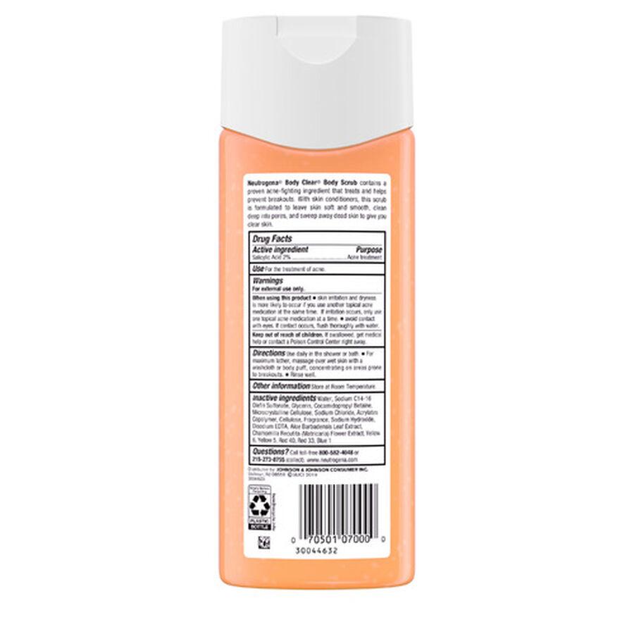 Neutrogena Body Clear Body Scrub, 8.5oz, , large image number 3
