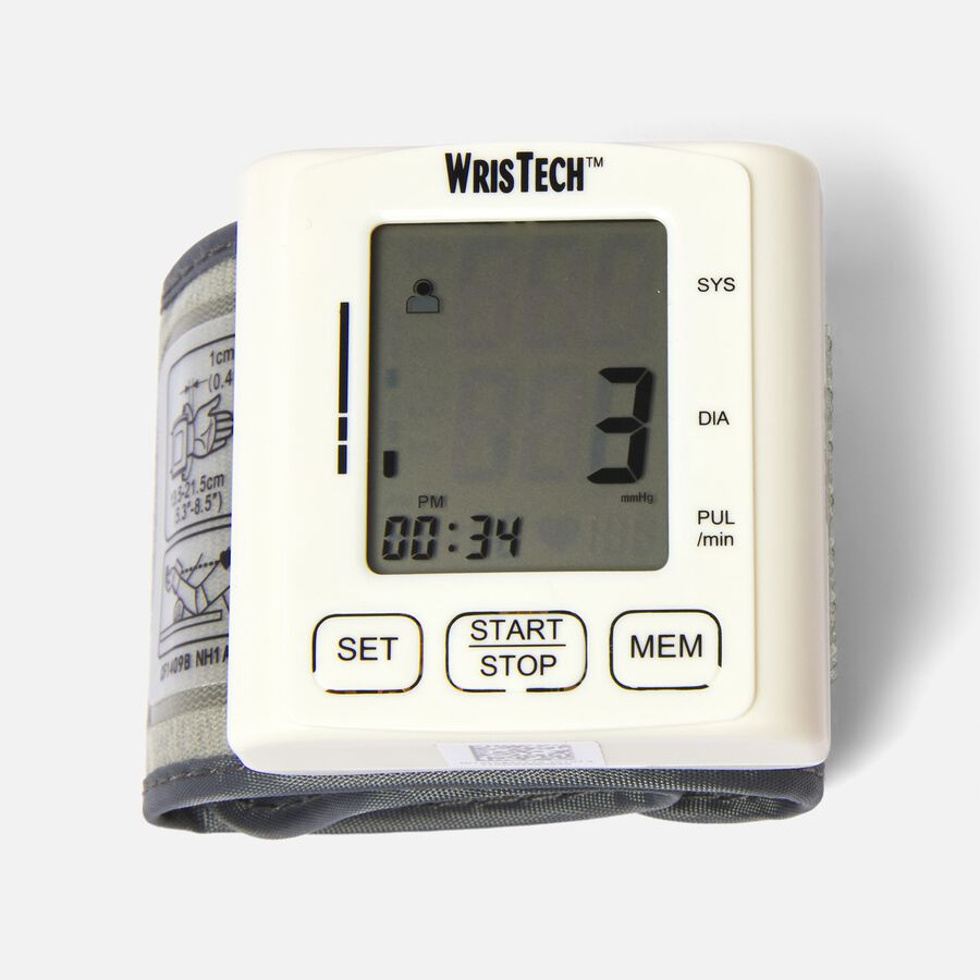 North American Wellness Blood Pressure Monitor with Case, , large image number 3