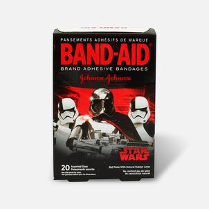 Band-Aid Adhesive Bandages, Star Wars, Assorted Sizes, 20 ct.
