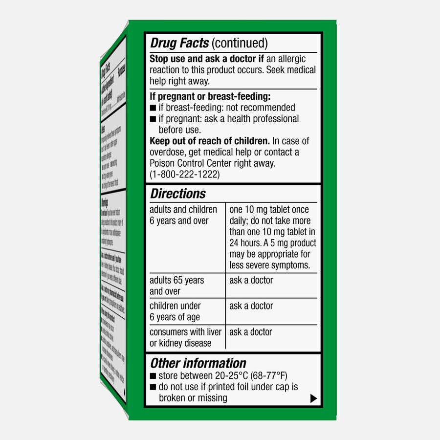 Caring Mill™ All-Day Allergy Cetirizine Hydrochloride Tablets, , large image number 5