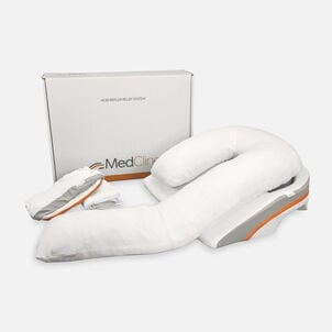 """MedCline Acid Reflux Relief System + Extra Cases Bundle, Large, Height 6'0""""+"""