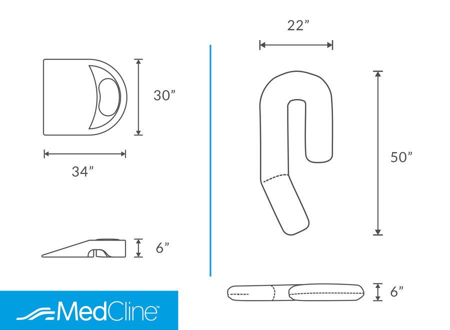 MedCline Shoulder Relief System + Extra Cases Bundle, One Size, , large image number 3