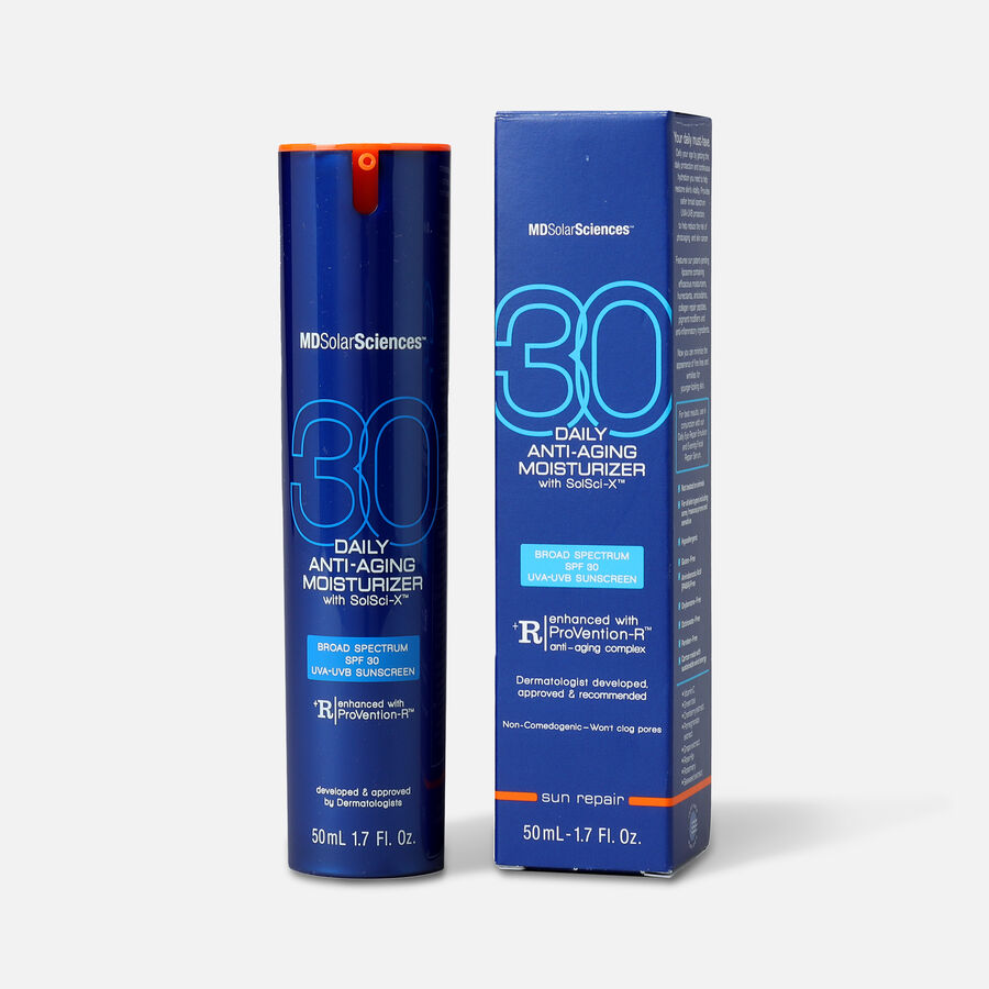 MDSolarSciences Daily Wear SPF 30 Moisturizing Sunscreen, 1.7 oz, , large image number 0