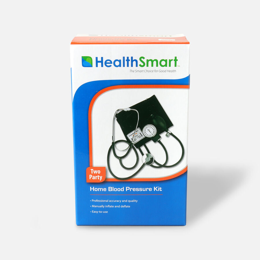 Mabis Two-Party Home Blood Pressure Monitor, , large image number 0