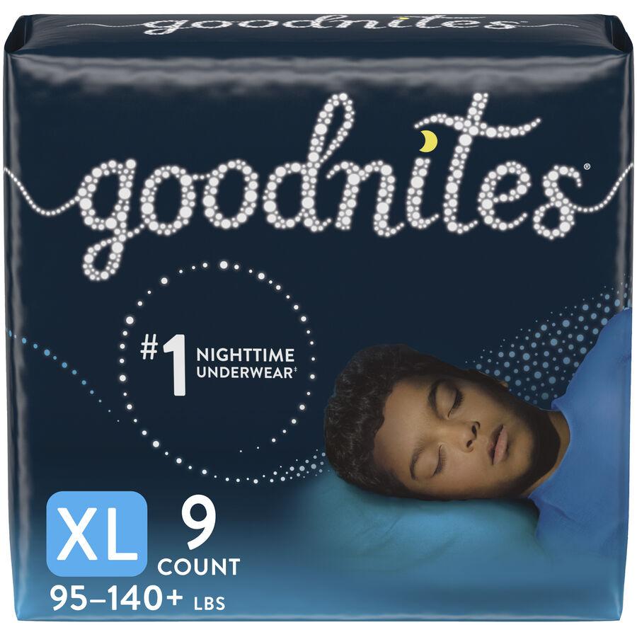 Goodnites Youth Pants, Boy, Jumbo Pack, , large image number 1