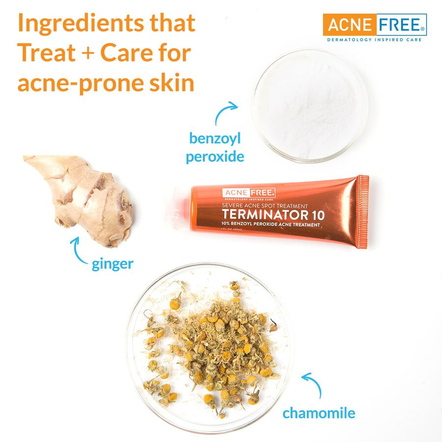 AcneFree Terminator 10 Acne Spot Treatment, 1 oz, , large image number 2