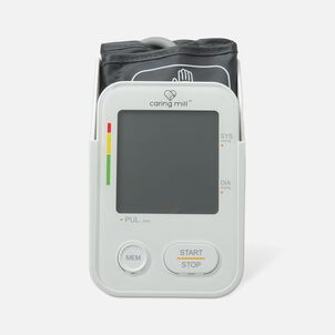 Caring Mill® Talking Upper Arm BP Monitor