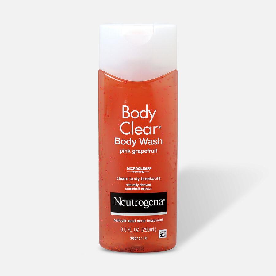 Neutrogena Body Clear Pink Grapefruit Body Wash, 8.5oz, , large image number 0