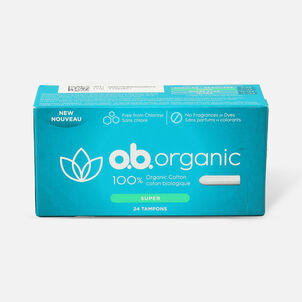o.b. Organic Super Tampon, 24ct