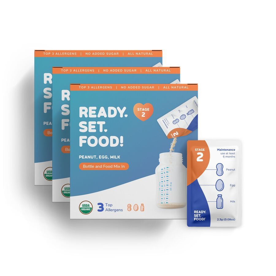 Ready, Set, Food! Early Allergen Introduction System for Babies 4+ Months, Stage 2, , large image number 2