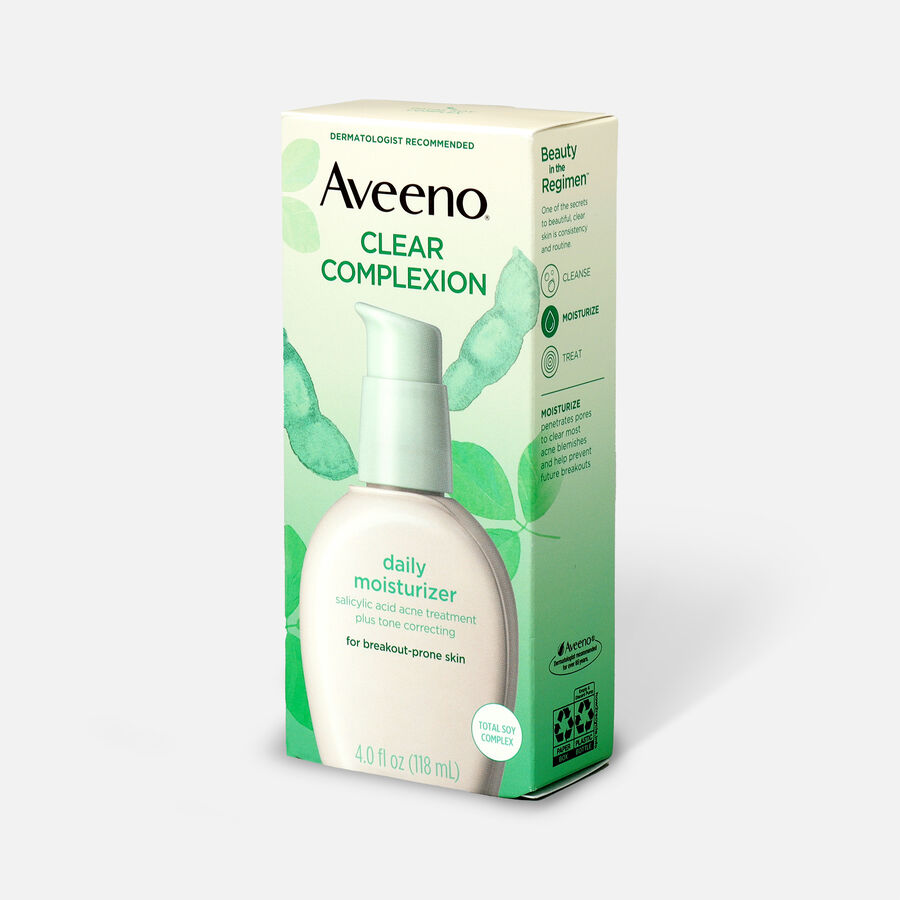 Aveeno Clear Complexion Face Moisturizer, 4oz, , large image number 3