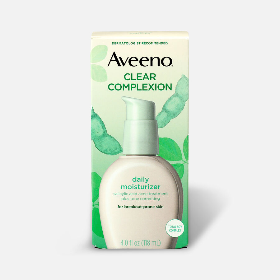 Aveeno Clear Complexion Face Moisturizer, 4oz, , large image number 1