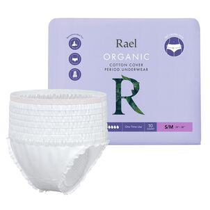 Rael Organic Cotton Disposable Period Underwear