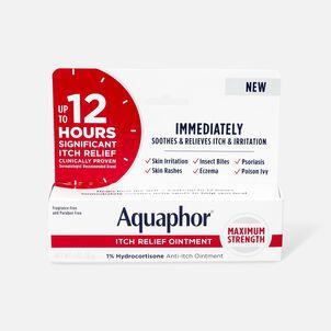Aquaphor Itch Relief Ointment, 1% Hydrocortisone, 1oz.