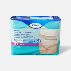 TENA ProSkin™ Protective Incontinence Underwear for Women, Maximum Absorbency,  Small/Medium, 20 Count