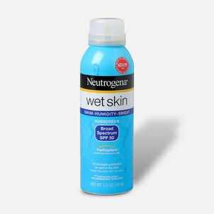 Neutrogena Wet Skin Sunscreen Spray, SPF 50, 5 oz