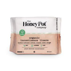 The Honey Pot Incontinence Pantiliner, 20 ct