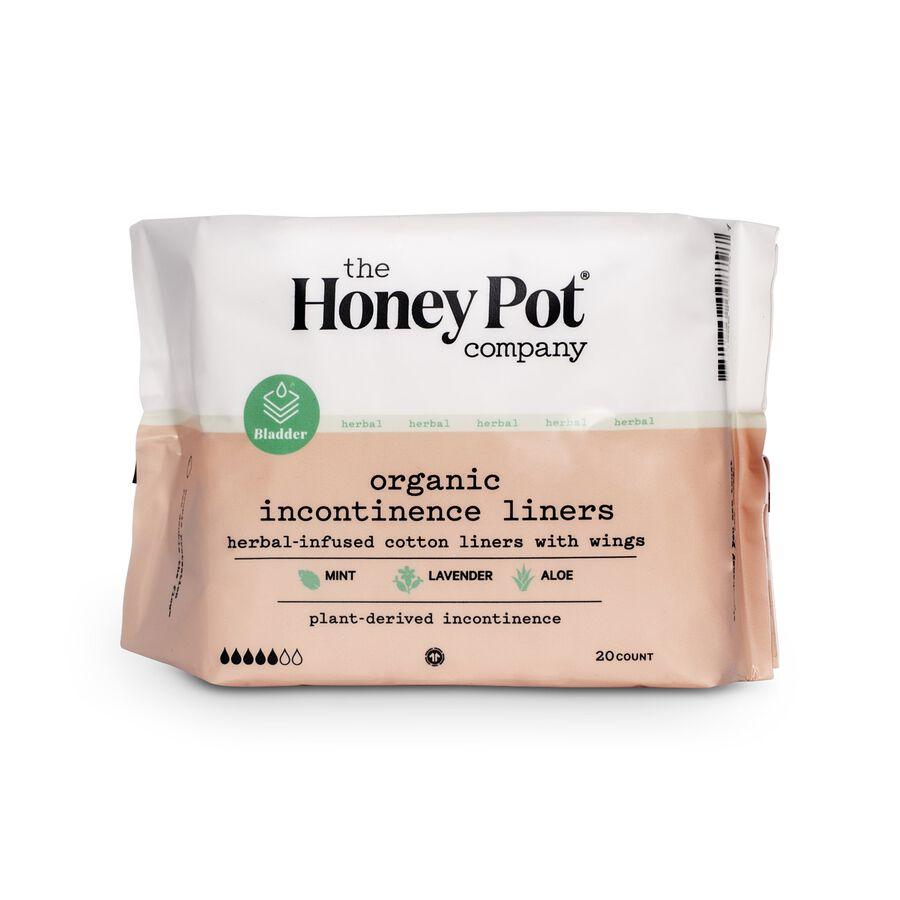 The Honey Pot Incontinence Pantiliner, 20 ct, , large image number 0