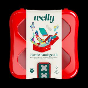 Welly Health Heroic Bandage Kit, 150 ct