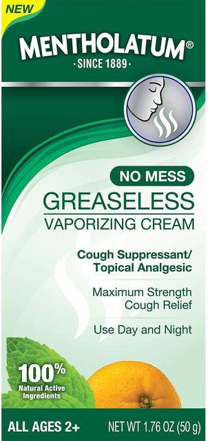 Mentholatum Greaseless Vaporizing Cream