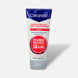 Clearasil Rapid Rescue Deep Treatment Wash, 6.78oz