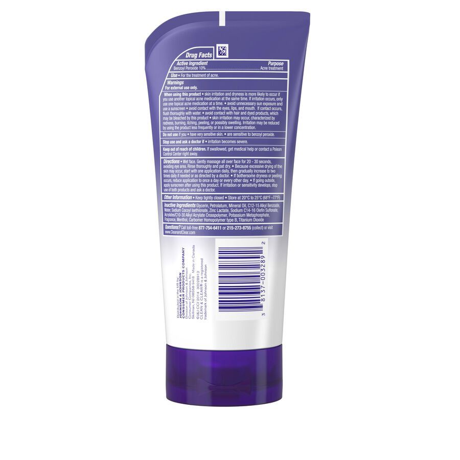 Clean & Clear Continuous Control Acne Cleanser, 5 oz, , large image number 1