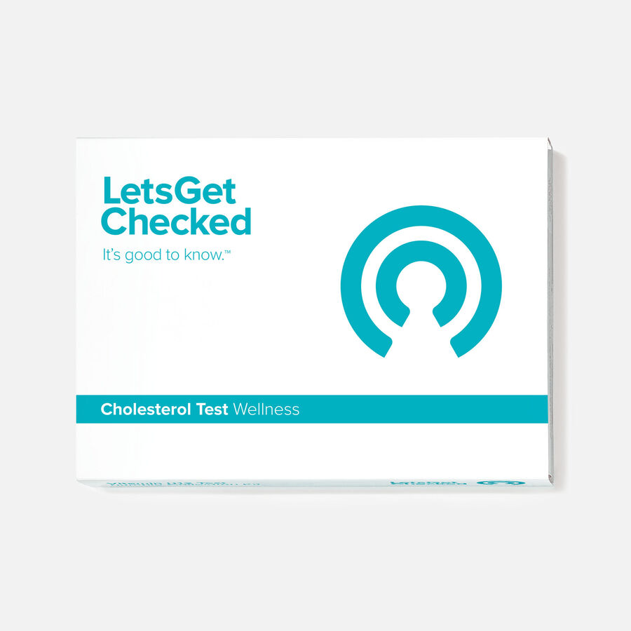 LetsGetChecked At-Home Cholesterol Test, , large image number 0