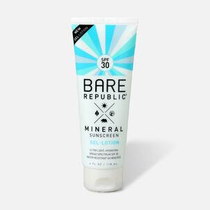 Bare Republic Mineral Gel Body Lotion SPF 30, 4 fl oz.