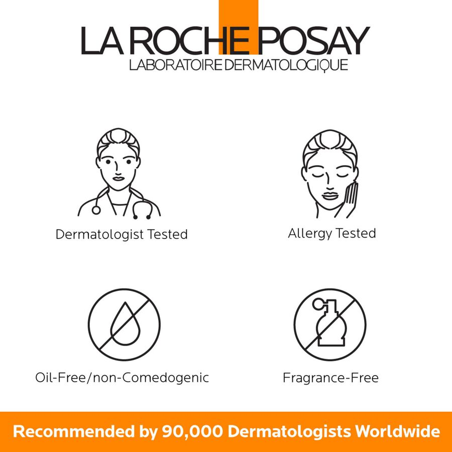 La Roche-Posay Anthelios Clear Skin, Dry Touch Face Sunscreen, Oil Free with SPF 60, 1.7 Fl. Oz., , large image number 5