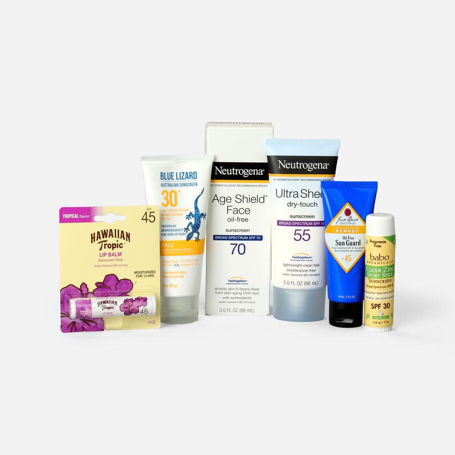 Sunscreen Travel Sizes Bundle, , large image number 0