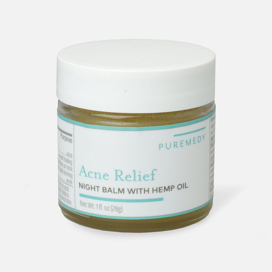 Puremedy Acne Relief Night Balm, 1 oz, , large image number 1