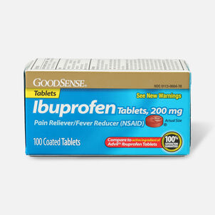 GoodSense® 200mg Ibuprofen Tablet 100 Count
