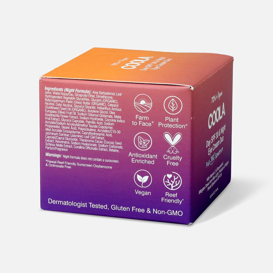 Coola Full Spectrum 360° Day SPF 30 & Night Organic Eye Cream Duo, , large image number 4