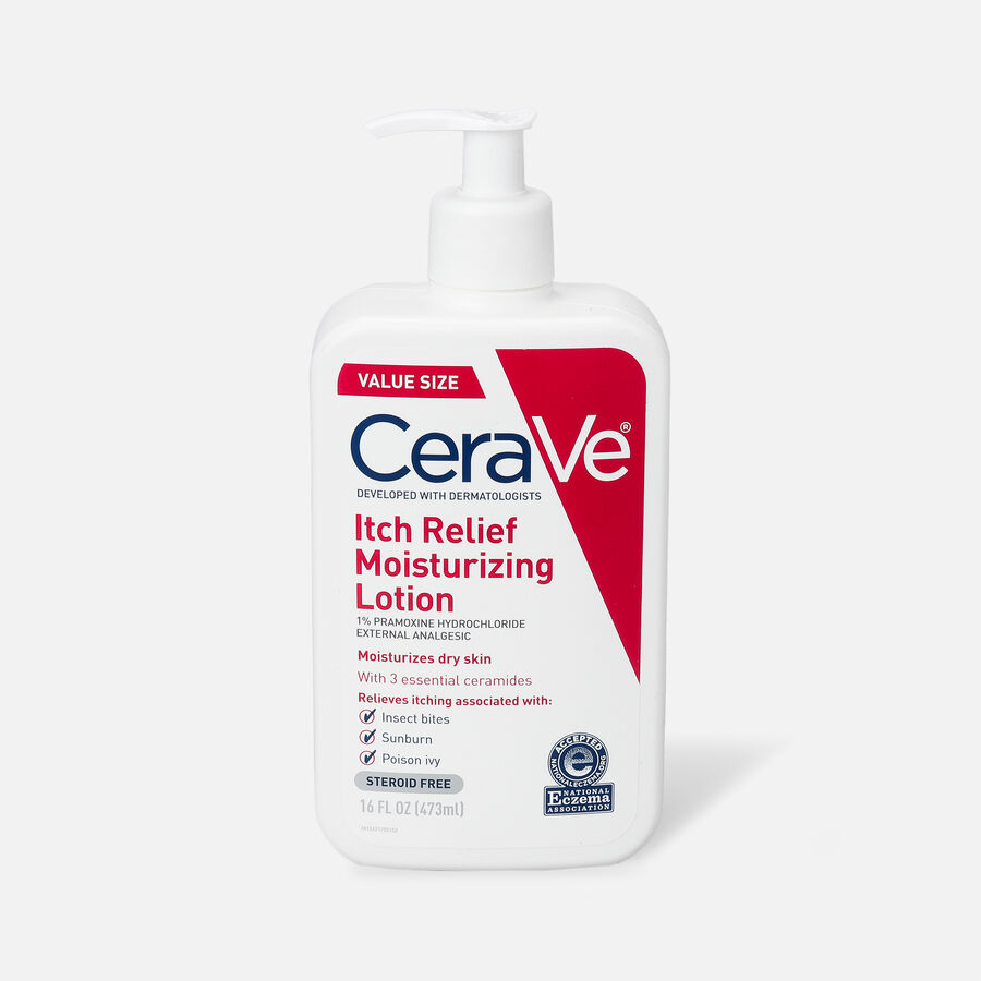 CeraVe Moisturizing Lotion for Itch Relief, , large image number 0