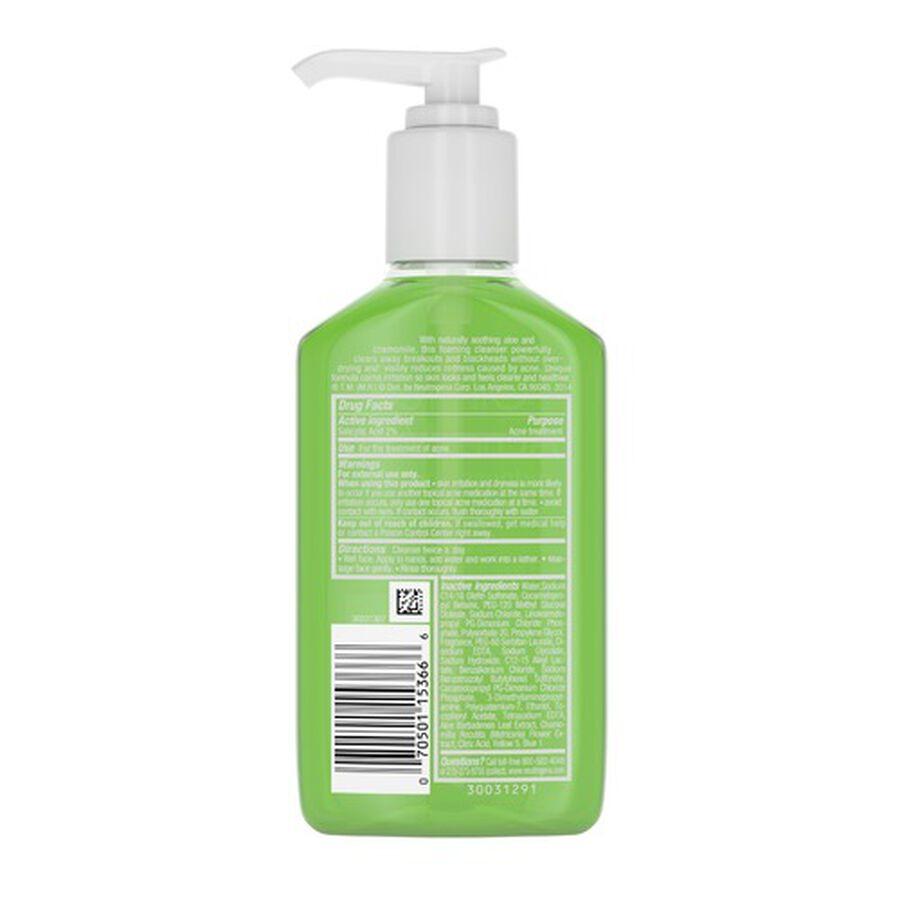 Neutrogena Oil-Free Redness Soothing Acne Wash, 6oz, , large image number 1